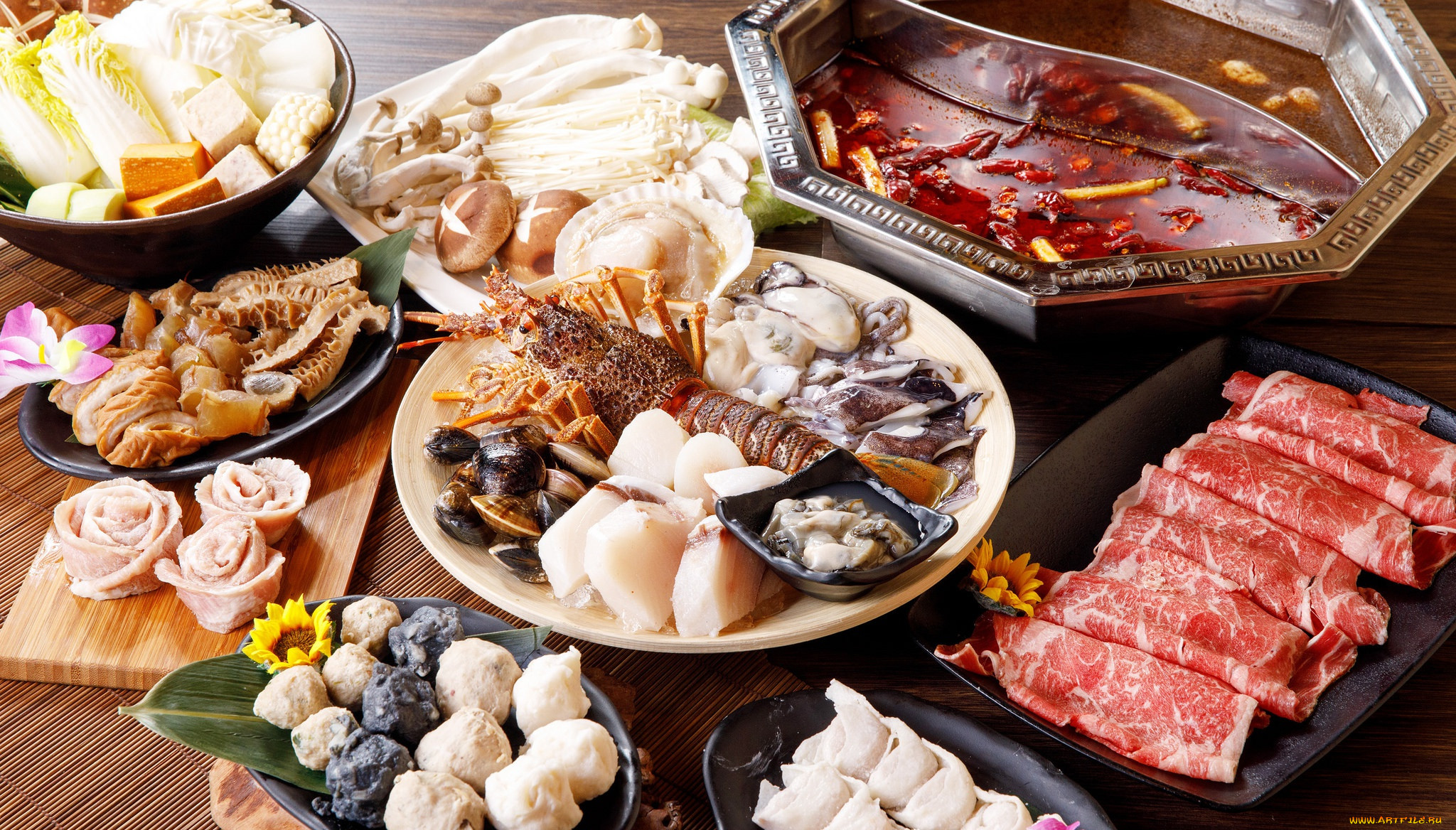 Разные красивые фотки еды